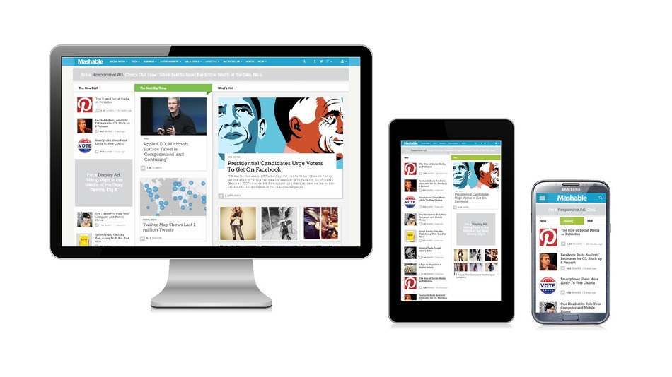 Responsive Design - Mobile First