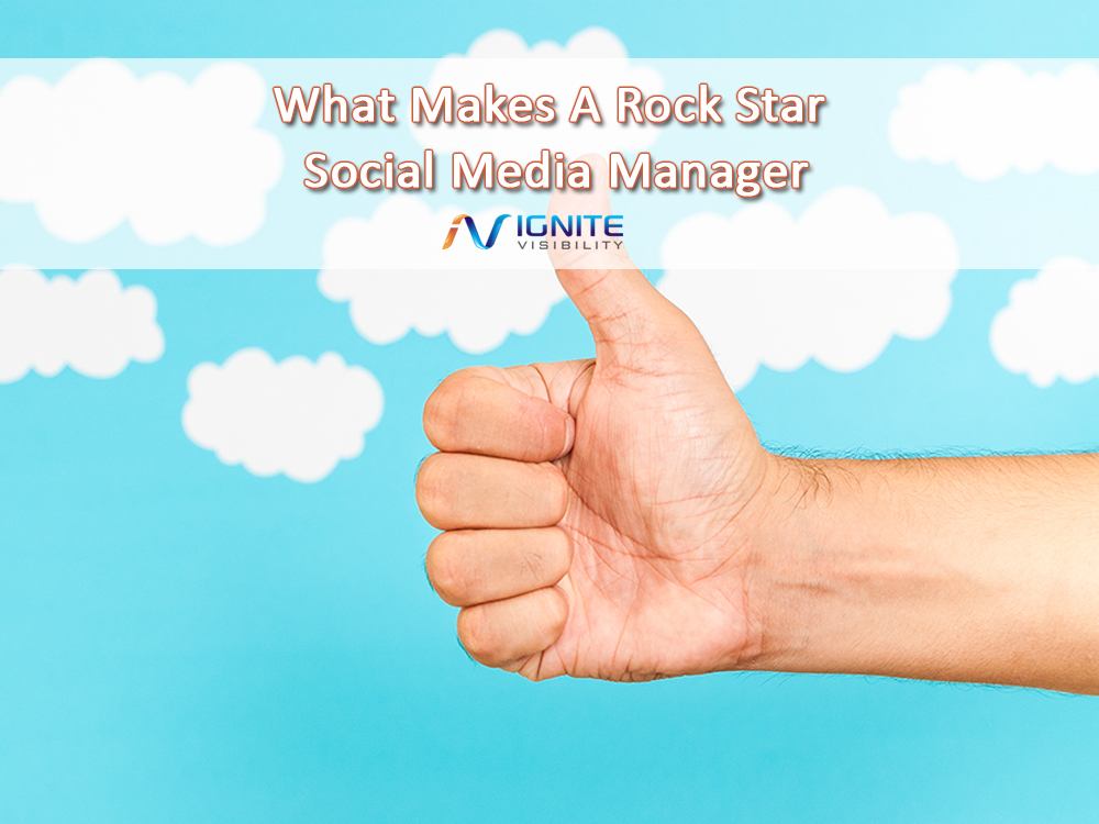 What Makes A Rock Star Social Media Manager