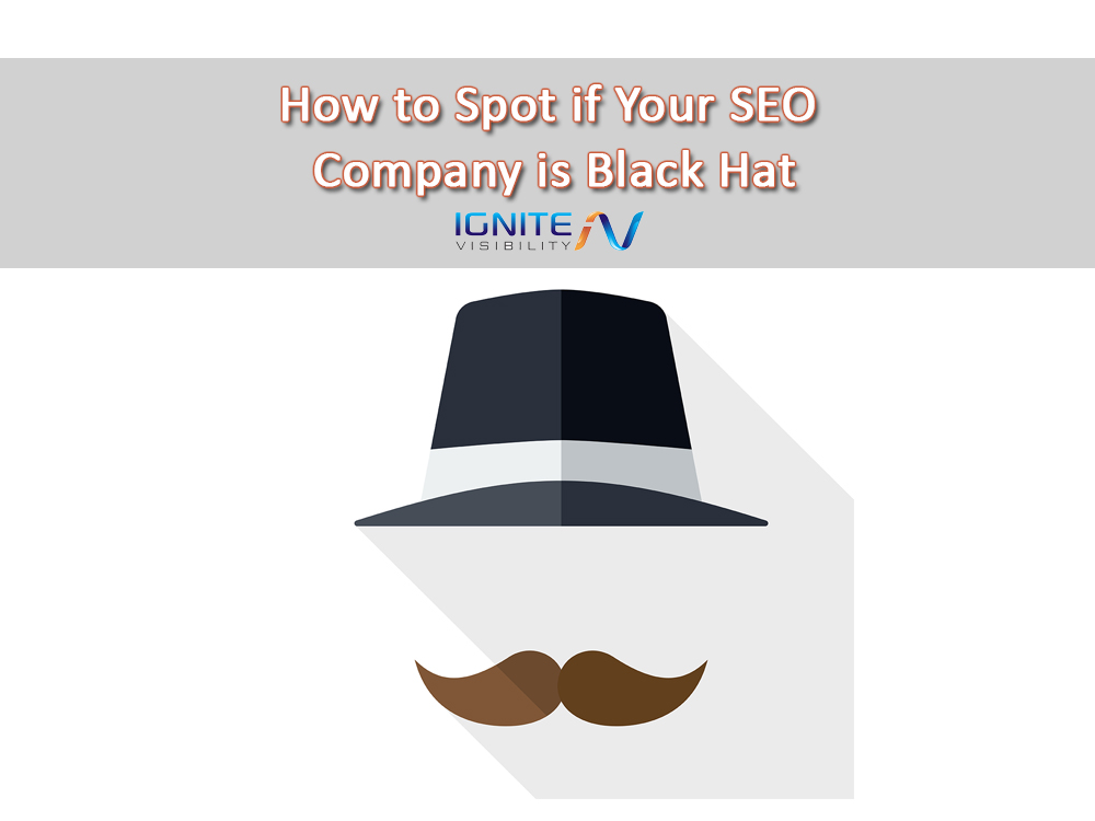 How to Spot if Your SEO Company is Black Hat