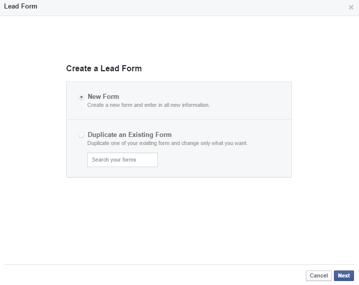How to Increase Potential Customers with Facebook Lead Ads - Form