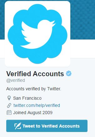 Verified Accounts