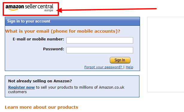 Amazon Marketplace Seller Login Uk