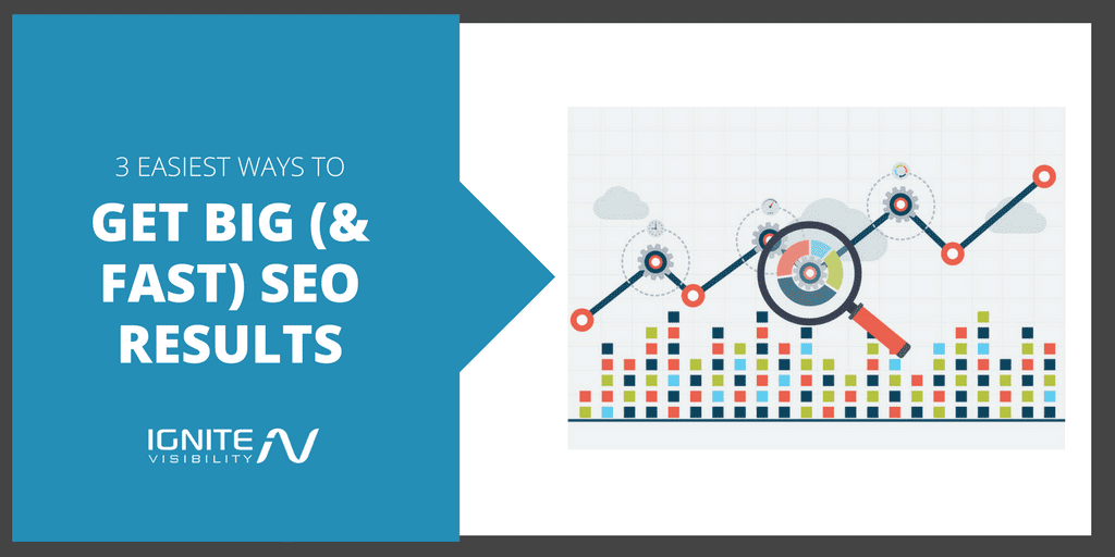 The 3 Easiest Ways To Get Big (And Fast) SEO Results