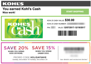Kohl's Customer Loyalty Program
