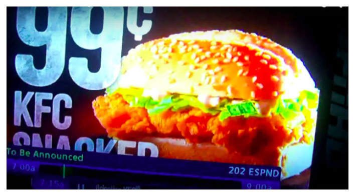 Subliminal Advertising: KFC Dollar Snacker