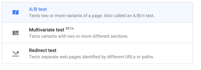 Run an A/B test in Google Analytics