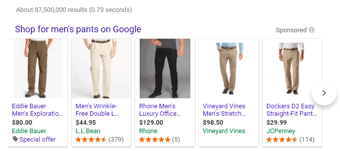 Cross-channel marketing: Google shopping ads can be used for remarketing on Facebook