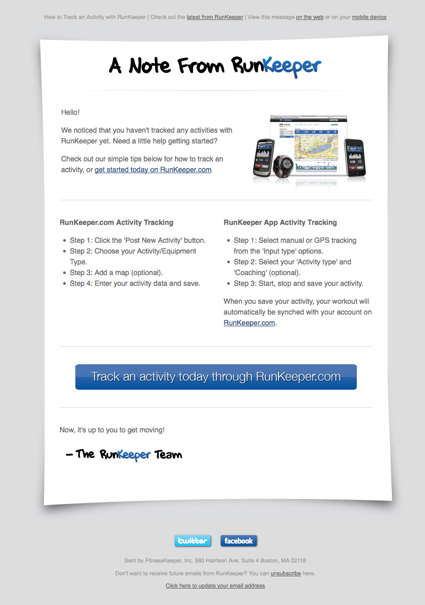 Onboarding Email Template: Timing