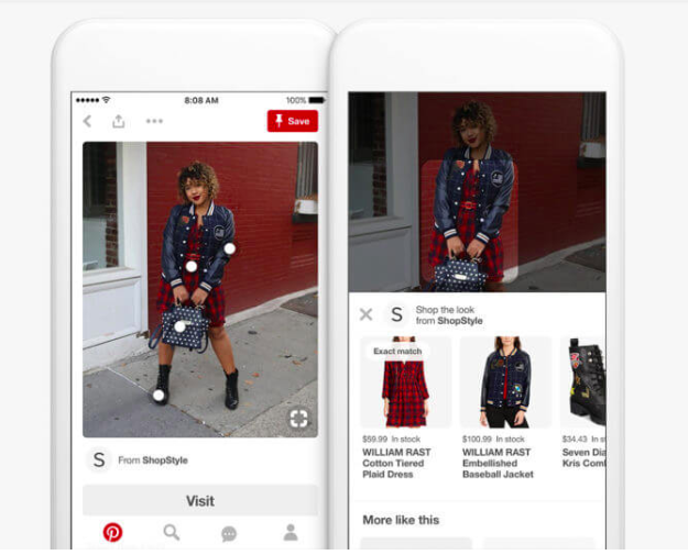 Pinterest gives SMBs access to Shop the Look pins