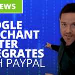 Google merchant center integrates with PayPal