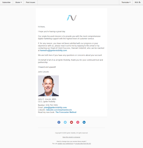 ignite-email-sequence-cross-sell